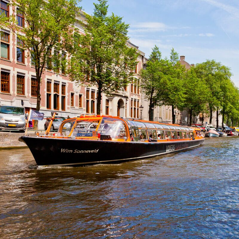 Amsterdam Pizza Cruise